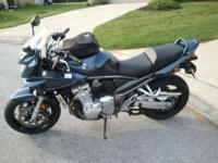2007 Suzuki Bandit 1250 ABS. Always garaged and well