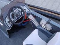 88 hp Johnson Outboard.Sturdy single axle trailer with