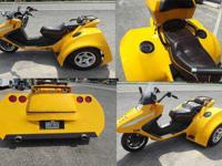 *****250CC AUTOMATIC SCOOTER TRIKE **** CUSTOM CORVETTE