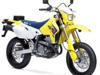 2007 SUZUKI DR-Z400SM, Yellow, how's this for a red-hot