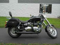 2008 TRIUMPH AMERICA, Phantom Black,