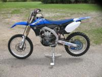 The 2010 Yamaha YZ450F is a completely reworked version