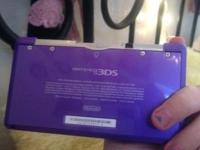 I have a purple 3ds, it is in perfect problem, i do not