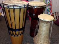Really nice Drums for sale. You can use them to play or