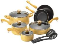 4 All-Clad Brushed Stainless-Steel Fry Pans - NEW -