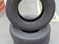 4 all season trailcat LT 9.5 r16.5 tires. good shape.