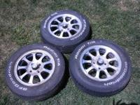 I have a set of 4 American Racing wheels to fit older