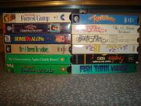 I have an assortment of VHS movies I would like to sell