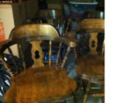 Type:FurnitureType:BAR STOOLS4 Walnut bar stools for