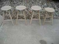 I have 4 bar stools in excellent condition for sale.