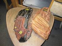 I have a lot of 4 baseball gloves, all right hander