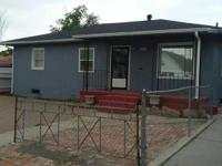 Cute 4 bedroom 1 bath. Fresh paint on the inside and