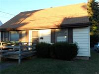 Well-maintained 4 Bedroom, 1.5 Bath Cape. Eat-in