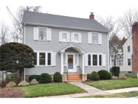 Walk to West Hartford Center from this well maintained,