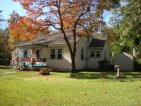 Charming cape style home in a friendly rural