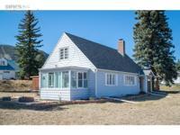 This is a classic Estes Park bungalow, completely