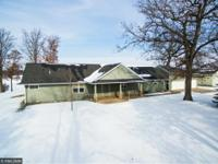 This home is a TEN! Rarely found 3.32 acres PLUS level
