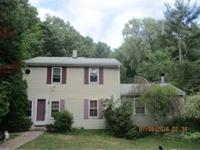 Private setting for this spacious colonial! Four
