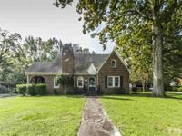 Charm and Character! All brick home features wood
