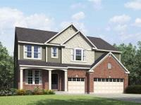 This brand new Drees Belleville plan has over 3, 300sf
