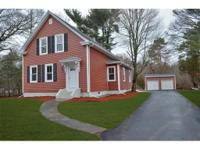 Magnificent New England Colonial~ A Grand Foyer Leads