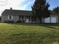 Beautiful Expanded Ranch Located On A Lovely Corner Lot