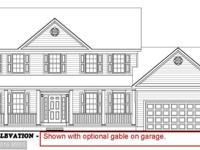To Be Built! Front porch included, side entry gar