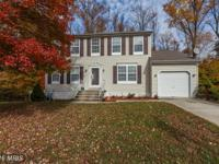 Beautifully updated colonial in Ritchie Run! Located in