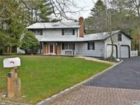 4 bdrm, 2.5 bath ch colonial on level private acre.