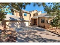 Located in the Broadmoor Spires on a large private