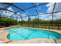 Enjoy a perfect Florida lifestyle in your own recently