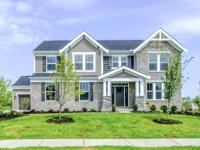New construction by Fischer Homes in beautiful