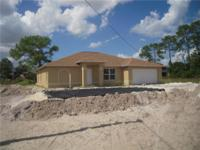 New construction!!! 4/2 house with 2 car garage, impact