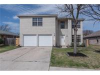 Incredible value in Leander ISD. Beautiful 2 story