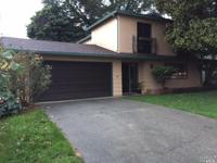 Great location on a quiet street. Large yard for kids