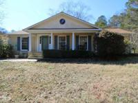 Most Beautiful 6 Acres in Cobb w/ Brick Ranch & heated