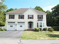 Stunning 4 bedroom 2 1/2 bath colonial in a private