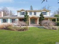 Classic Ch Colonial Situated On A Park-Like Property