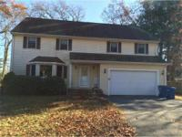Approved Short Sale at $550k. Large 4 bedroom colonial