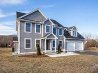 New construction in monson completed and ready to move