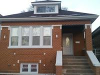 Renovated all brick Chicago bungalow. Sand blasted