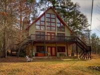 ^glass view chalet overlooking private pond^ this 4br,