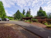 Rare, one owner home on 3.4 secluded acres. This piece