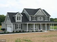 New Custom Colonial 2.09 Acres. 4 BR, 2.5 baths. 2800