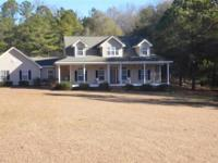 This large home sits on almost 5 acres of land. 4