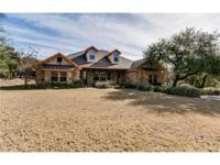 Beautiful Hill Country home on 1.6 acres! One owner
