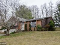 Lovely & spacious home on large, private lot backing to