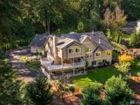 Epitome of privacy in luxurious home on 4.5 acres in