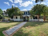 Well built, charming 2 story on .90 acre offers vintage