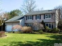 Spectacular Expanded Center Hall Colonial W/Gorgeous